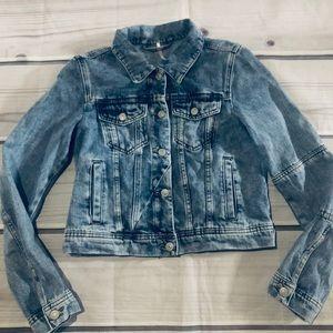 Free People Denim Jean Jacket Size XS